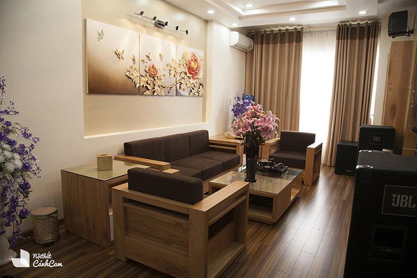 Thiết kế phòng khách Hải Phòng